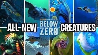 ALL *NEW* Creatures in Subnautica BELOW ZERO