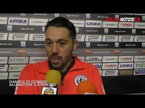 Pistoiese-Arezzo 1-1, intervista a Di Donato
