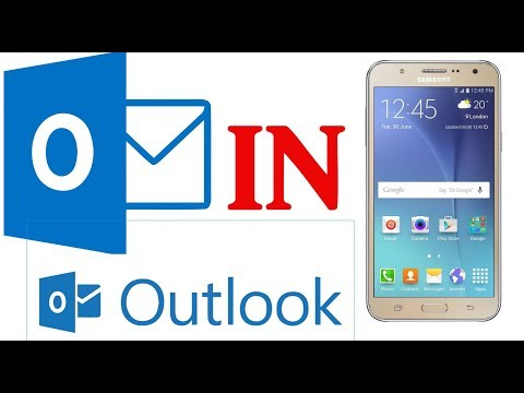 How to Use Outlook Mail in  Android Mobile/Smartphone without App or Any Desktop