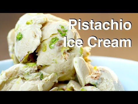 Video Pistachio Ice Cream Recipe - LeGourmetTV