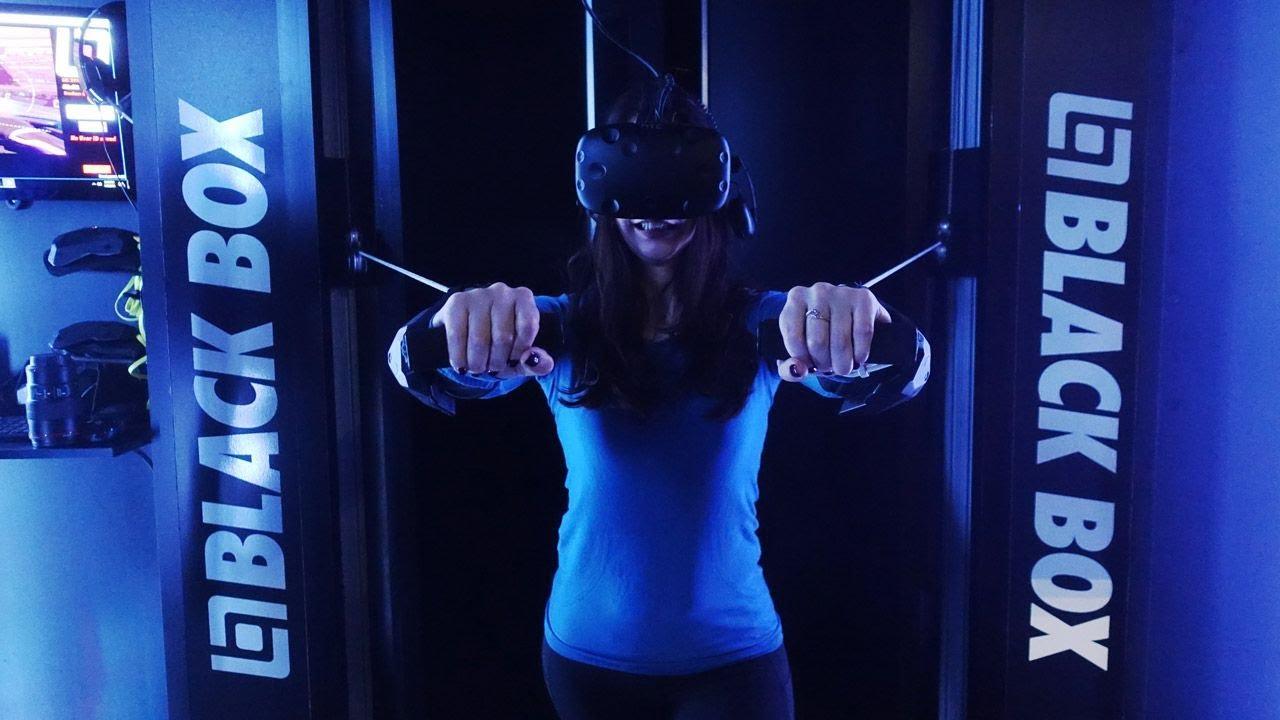 Black Box VR gym first workout thumbnail