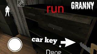 Granny car key ( how to find the car key)