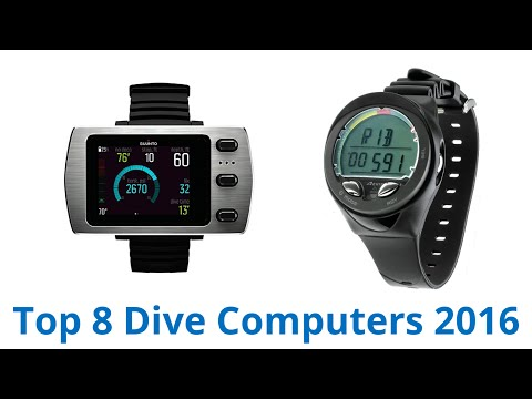 8 Best Dive Computers 2016