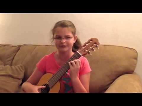 """Sarah Hardwig plays & sings """"Witness"""" by Daughtry"""