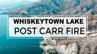 Whiskeytown Lake | Drone | Carr Fire Aftermath