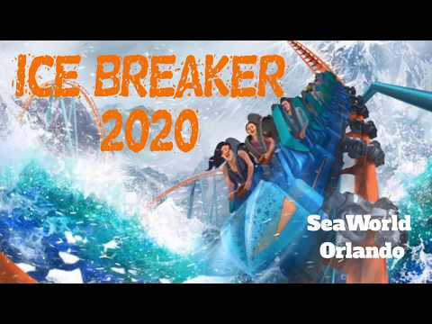 SeaWorld Orlando Ice Breaker 2020 Coaster Construction Update!