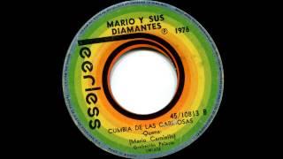 """Mario y sus Diamantes - Cumbia de las cariñosas, 7"""" single"""