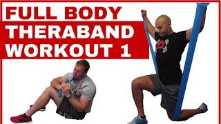 Full body Theraband workout 1 by Joy of Movement Fitness Solutions