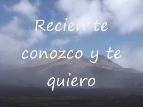 Recien te conozco y te quiero - Carlos Estrada