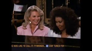 """Murphy Brown"" and Aretha Franklin - (You Make Me Feel Like) A Natural Woman"