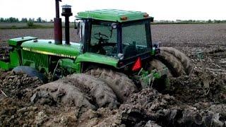 Tractors Stuck in Mud | Tractor Engine Sound Compilation
