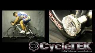 CycleTEK Momentum1 Indoor Fluid Cycling Trainer CycleTEK trainer feature video.