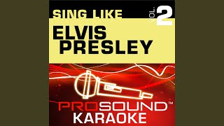 Are You Lonesome Tonight? (Karaoke Instrumental Track) (In the Style of Elvis Presley)