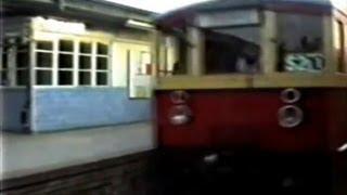 Berliner S-Bahn - 1989 Oktober - S2 von Pav nach Lrd