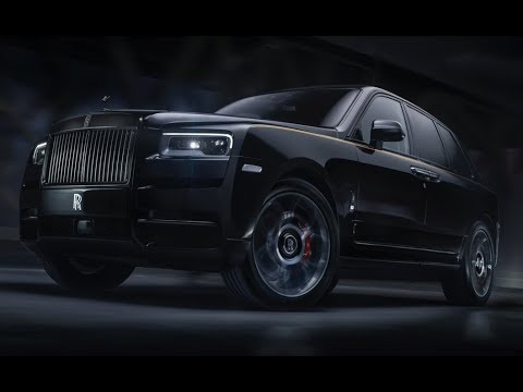 Rolls-Royce Cullinan Black Badge – Bolder in black