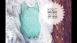 How To Knit Baby Body/Romper