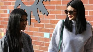 Sisters Kylie, Kourtney And Khloe Make A Scene  Pt 2