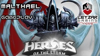 Heroes of the Storm (Gameplay) - Malthael First Impressions (HotS Malthael Gameplay Quick Match)