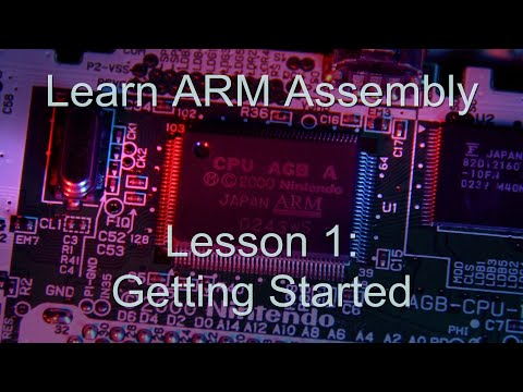 Learn ARM Assembly Programming - Lesson1 : For absolute beginners!