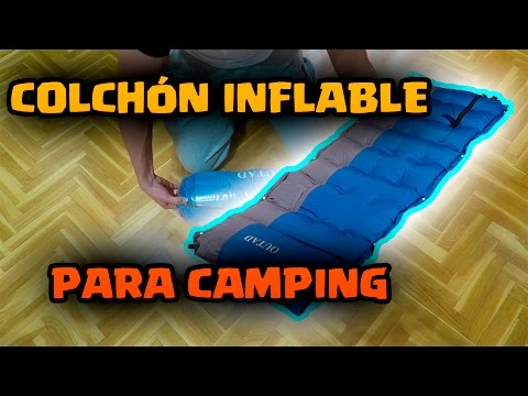 ANALISIS COLCHON INFLABLE PARA CAMPING DE OUTAD