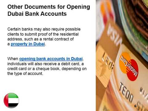 Opening A Bank Account In Dubai Mp3
