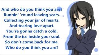 Nightcore - Jar Of Hearts (Lyrics)