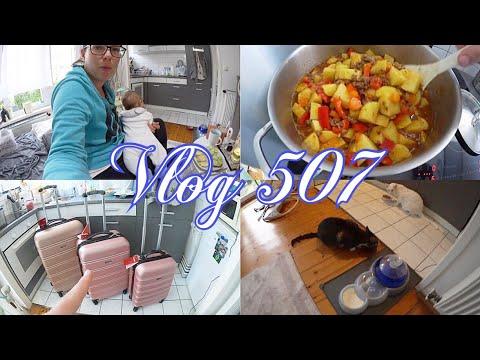 Food l Amazon Haul - C Ringe, Koffer Set, Schwimmring, Taillen Trainer l Vlog 507