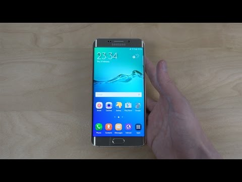 Samsung Galaxy S6 Edge+ Gold - Unboxing (4K)