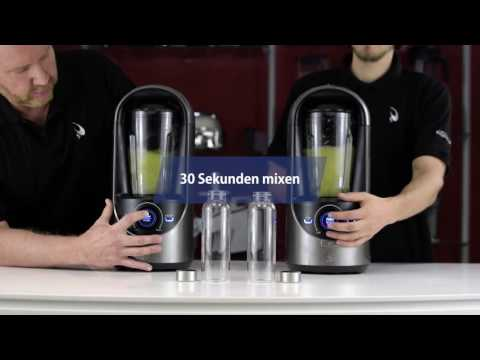 Vakuum-Mixer im Test: Apfel-Smoothie aus dem Vidia Vakuum Blender
