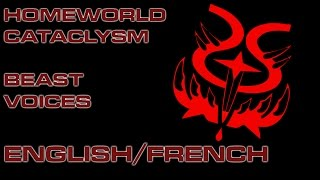 Beast Quotes -  Homeworld Cataclysm - English/French