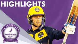 High Scoring Thriller Goes To The Wire | Sussex v Glamorgan | Royal London One-Day Cup 2019