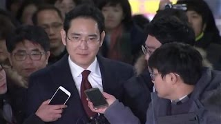 Samsung Heir Questioned in South Korean Probe
