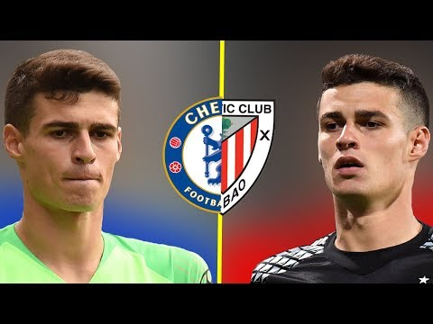 Kepa Arrizabalaga in Chelsea VS in Athletic Club - The Evolution of a Goalkeeper - 2018