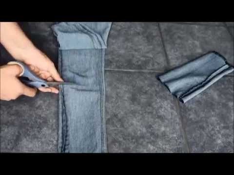 DIY: How to Turn Unwanted Jeans into Capris by {MadeByFate} #2
