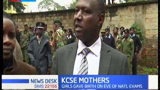 KCSE Mothers: Three girls in Embu County write their exams in hospital