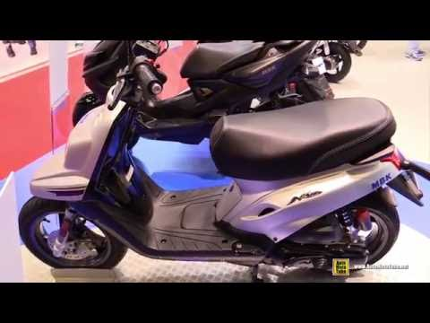 2016 MBK Booster Naked 13inch 50cc Scooter – Walkaround – 2015 Salon de la Moto Paris
