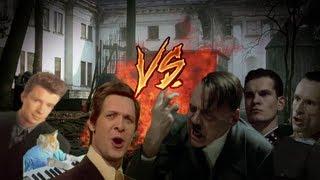 Hitler,Günsche,Goebbels VS Music Trolls