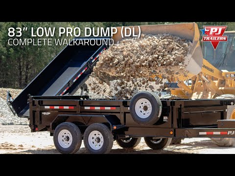 2020 PJ Trailers 83 in. Low-Pro Dump (DL) 14 ft. in Hillsboro, Wisconsin - Video 1