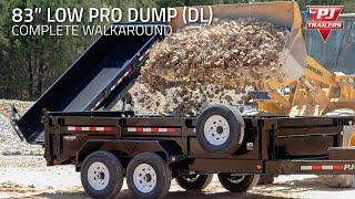 """83"""" Low Pro Dump (DL) Complete Walkaround"""