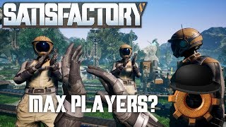 Satisfactory FOUR PLAYER Multiplayer Stream | Space Elevator Quest