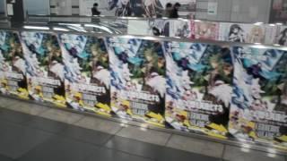 コミケ91りんかい線国際展示場駅の様子C91