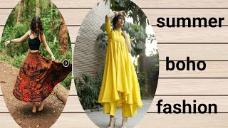 SUMMER BOHO STYLE OUTFITS | How To Dress Bohemian Style | AniStyle