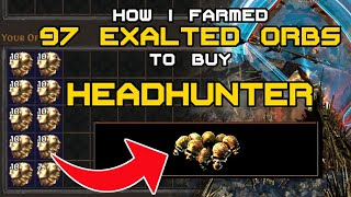 5 Tips and Lessons Learned from Farming Currency to get Headhunter -Path of Exile- No Speed Mapping!