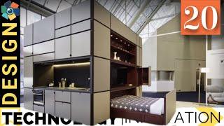 20 Smart Furniture Designs | Transforming and Space Saving