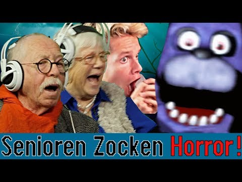 Five Nights At Freddy's - Senioren Zocken ft. Luca|Concrafter