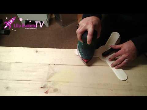 Einfacher Bumerang - Einen flugfähigen Bumerang selber bauen