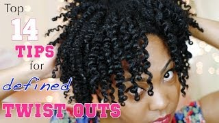 My Top 14 Tips for a Defined Twist Out on Natural Hair