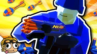 NERF WAR 2, NEW WEAPONS! | Ravenfield Weapon and Vehicle Mod Beta Gameplay