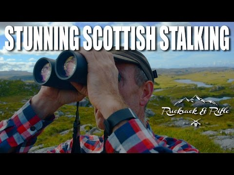 Stunning Scottish Stalking – Rucksack & Rifle