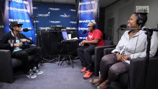 "August Alsina on Being Homeless and Performs ""Downtown"" on Sway in the Morning"